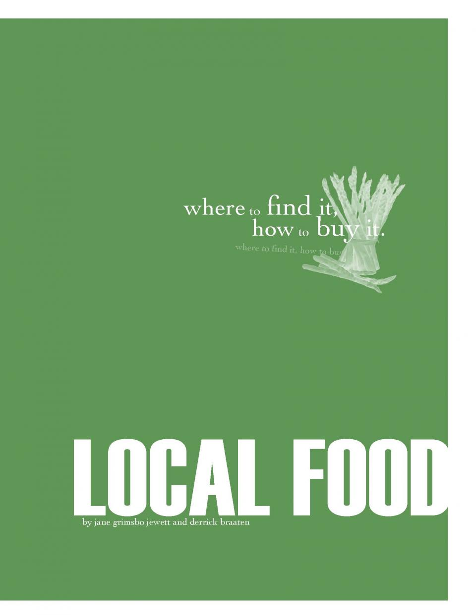 Local Food Where to Buy It cover image