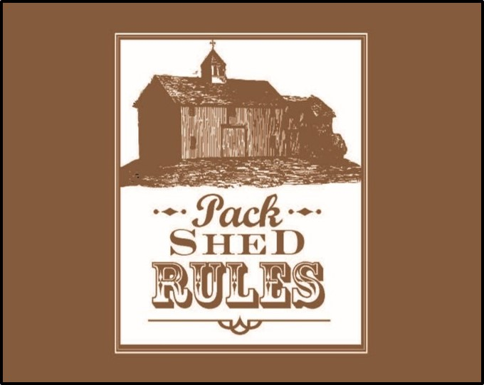 cover image for Pack Shed Rules employee handbook