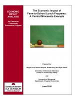 cover image for Economic Impact of Farm to School in Minnesota