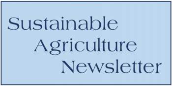 Sustainable Ag Newsletter